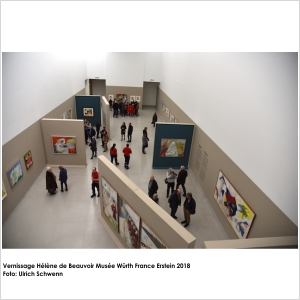Vernissage Hélène de Beauvoir Museum Würth France Erstein 2018