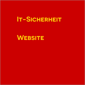IT-Sicherheit Website